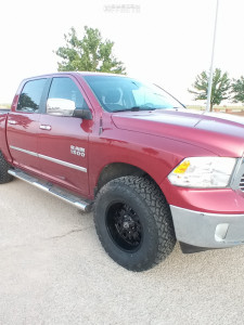"""2014 Ram 1500 - 18x9 0mm - Panther Offroad 580 - Air Suspension - 35"""" x 12.5"""""""