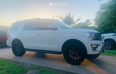 """2020 Ford Expedition - 20x9 1mm - Fuel Vandal - Leveling Kit - 33"""" x 12.5"""""""
