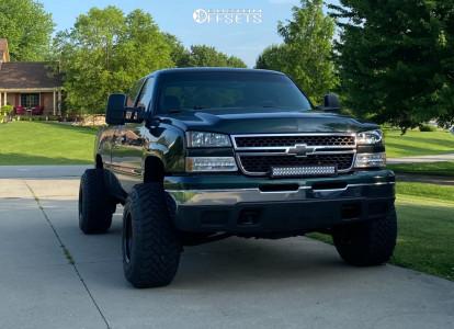 "2006 Chevrolet Silverado 1500 - 15x14 -88mm - Bart Super Trucker - Leveling Kit - 33"" x 13.5"""
