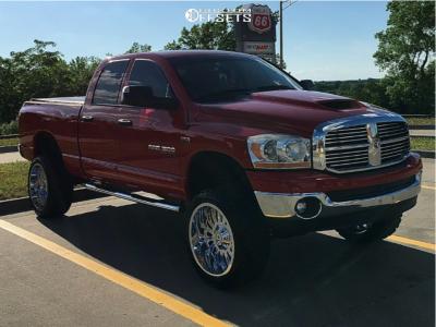 "2006 Dodge Ram 1500 - 22x12 -44mm - RBP 76r - Suspension Lift 6"" - 33"" x 12.5"""