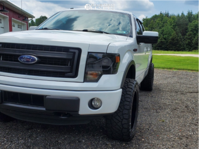 """2014 Ford F-150 - 20x10 -44mm - BMF Payback - Leveling Kit - 33"""" x 12.5"""""""
