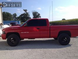 2001 Dodge Ram 1500 - 17x9 -25.4mm - XD Crank - Stock Suspension - 285/70R17