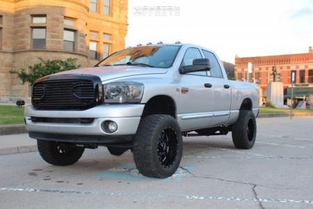 "2008 Dodge Ram 2500 - 20x10 -25mm - Ultra Butcher - Suspension Lift 3"" - 35"" x 12.5"""