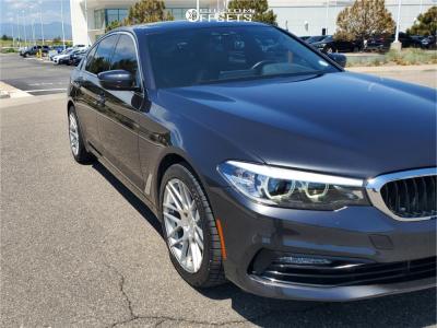 2018 BMW 540i xDrive - 18x9 25mm - MRR Gf7 - Stock Suspension - 255/40R18