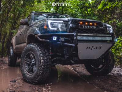 """2008 Toyota Tacoma - 17x9.5 -12mm - American Outlaw Lonestar - Suspension Lift 3.5"""" - 35"""" x 12.5"""""""