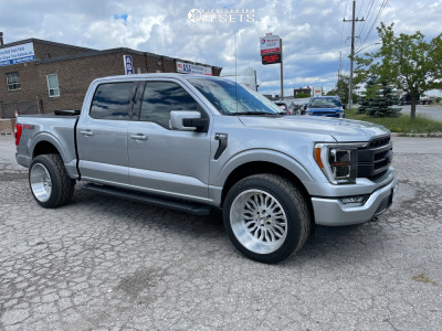 """2021 Ford F-150 - 22x12 -44mm - XF Offroad Xfx 305 - Stock Suspension - 33"""" x 35"""""""
