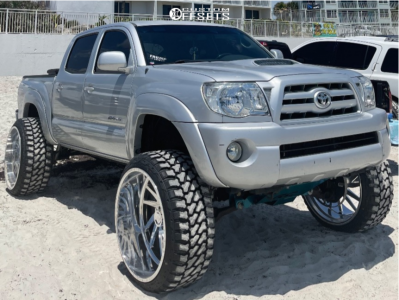 """2005 Toyota Tacoma - 26x14 -76mm - Hd Luxxx Hornet - Suspension Lift 6"""" - 35"""" x 13.5"""""""
