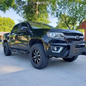 2018 Chevrolet Colorado - 18x9 -18mm - Moto Metal Mo970 - Leveling Kit - 275/65R18
