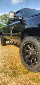 "2007 Chevrolet Silverado 2500 HD Classic - 20x9 -19mm - Ballistic Rage - Leveling Kit - 33"" x 12.5"""