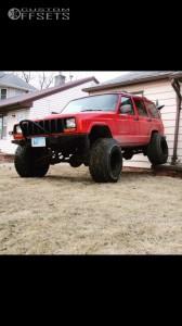 "1998 Jeep Cherokee - 15x14 -88mm - Bart Super Trucker - Suspension Lift 4.5"" - 33"" x 12.5"""