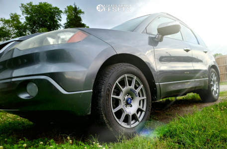 2009 Acura RDX - 18x8 35mm - Sparco Terra - Stock Suspension - 235/55R18