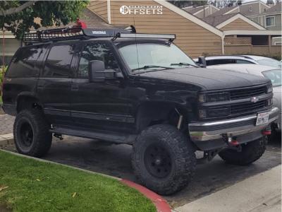 "1998 Chevrolet Tahoe - 16x8 0mm - American Racing Ar172 - Suspension Lift 6"" & Body 3"" - 315/75R16"