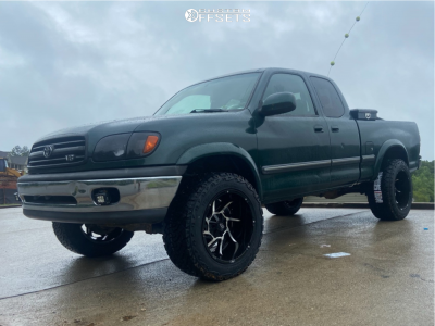 """2000 Toyota Tundra - 20x12 0mm - Vision Prowler - Suspension Lift 2.5"""" - 33"""" x 12.5"""""""