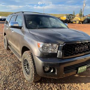 2017 Toyota Sequoia - 18x9 18mm - Method Mr314 - Stock Suspension - 275/65R18