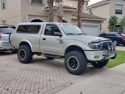 "2003 Toyota Tacoma - 16x10 -25mm - Mickey Thompson Classic Baja Lock - Suspension Lift 2.5"" - 265/75R16"