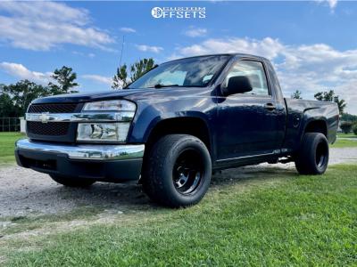 "2008 Chevrolet Colorado - 15x10 -38.1mm - Bart Super Trucker - Stock Suspension - 26"" x 11.5"""