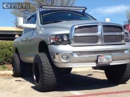 "2004 Dodge Ram 1500 - 20x14 -76mm - Fuel Maverick - Suspension Lift 7"" - 35"" x 12.5"""