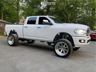 """2020 Ram 2500 - 24x14 0mm - American Force Independence Ss - Suspension Lift 4"""" - 325/45R24"""