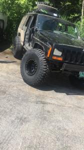 "2000 Jeep Cherokee - 15x10 -44mm - Pro Comp Series 252 - Suspension Lift 5.5"" - 35"" x 12.5"""