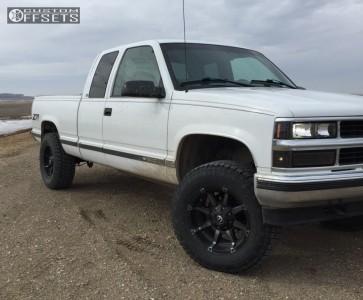"""1998 Chevrolet K1500 - 18x9 -12mm - Fuel Coupler - Suspension Lift 3"""" - 305/50R18"""