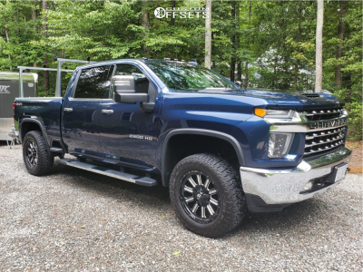 "2020 Chevrolet Silverado 2500 HD - 20x9 20mm - Fuel Hardline - Leveling Kit - 35"" x 12.5"""