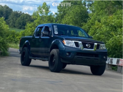 """2016 Nissan Frontier - 18x9 -12mm - Panther Offroad 580 - Suspension Lift 2.5"""" - 31"""" x 10.5"""""""