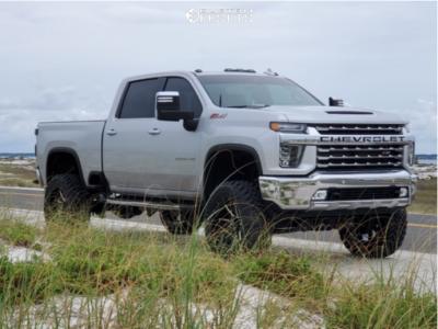 "2020 Chevrolet Silverado 2500 HD - 22x10 -24mm - Hostile Alpha - Suspension Lift 7"" - 37"" x 12.5"""