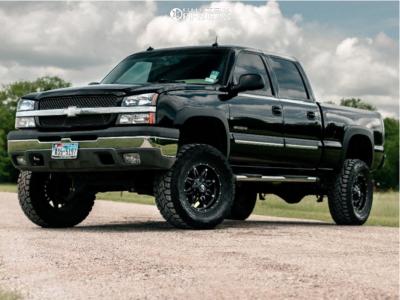 "2003 Chevrolet Silverado 1500 HD - 18x9 0mm - Fuel Hostage - Suspension Lift 6"" - 35"" x 12.5"""