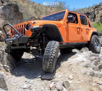 "2020 Jeep Wrangler - 17x8.5 0mm - Method Nv - Suspension Lift 3.5"" - 38"" x 13.5"""