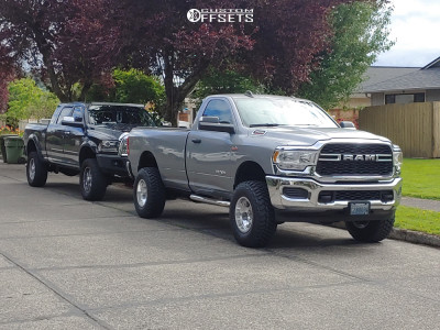 """2021 Ram 2500 - 17x10 -25mm - US Mags Indy - Suspension Lift 3"""" - 35"""" x 11.5"""""""