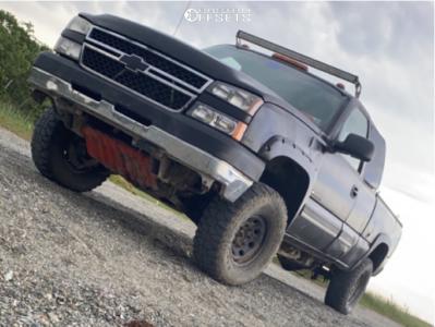 """2007 Chevrolet Silverado 2500 HD Classic - 16x9 -0mm - Pro Comp 01 - Suspension Lift 3"""" - 285/75R16"""