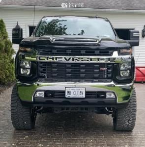 """2021 Chevrolet Silverado 2500 HD - 24x12 -44mm - TIS 548bm - Air Suspension - 35"""" x 13.5"""""""