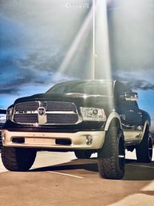 "2013 Dodge 1500 - 24x12 -44mm - Fuel 537 - Suspension Lift 4"" - 37"" x 13.5"""