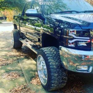 "2012 Chevrolet Silverado 1500 - 22x14 -76mm - Specialty Forged Sf006 - Suspension Lift 6"" - 35"" x 13.5"""