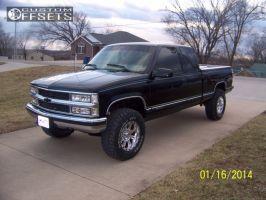 "1997 Chevrolet Silverado 1500 - 17x10 -6mm - Pro Comp 6031 - Suspension Lift 3"" - 285/70R17"