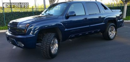 "2003 Chevrolet Avalanche - 20x9 18mm - XD Hoss - Leveling Kit - 33"" x 12.5"""