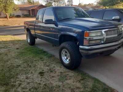 """1995 Chevrolet K1500 - 16x10 -24mm - Pro Comp Series 69 - Suspension Lift 4"""" - 285/75R16"""