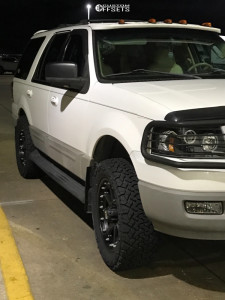 """2003 Ford Expedition - 20x9 18mm - XD Addict - Leveling Kit - 33"""" x 12.5"""""""