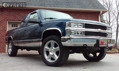 1998 Chevrolet K1500 - 20x8.5 31mm - Oe Performance 2009 chevy ltz - Leveling Kit - 275/55R20