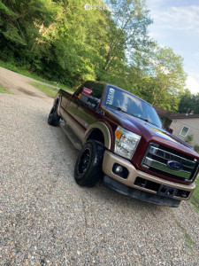 """2012 Ford F-250 Super Duty - 18x9 12mm - Fuel Lethal - Stock Suspension - 33"""" x 12.5"""""""