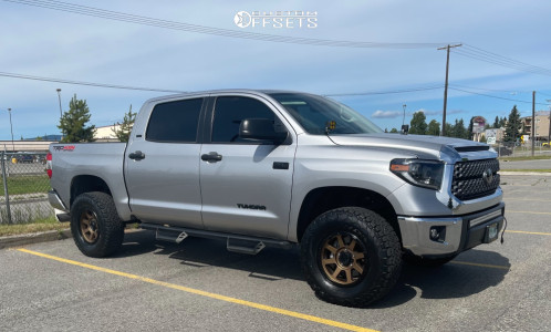 "2020 Toyota Tundra - 18x8.5 0mm - XD Addict - Suspension Lift 3"" - 35"" x 12.5"""