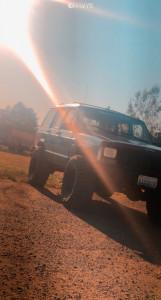 "1994 Jeep Cherokee - 15x12 -44mm - Pro Comp Custom - Suspension Lift 3"" - 33"" x 12.5"""