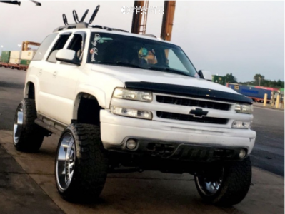 "2004 Chevrolet Tahoe - 24x14 -76mm - Tuff T2a - Suspension Lift 6"" - 35"" x 13.5"""