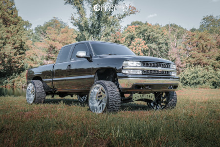"1999 Chevrolet Silverado 1500 - 26x14 -90mm - American Force Acid Cc - Suspension Lift 8"" - 35"" x 13.5"""