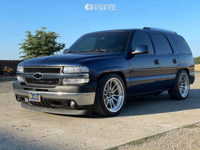 2001 Chevrolet Tahoe - 22x10 0mm - Cosmis Racing Xt-206r - Lowered 3F / 5R - 285/40R22