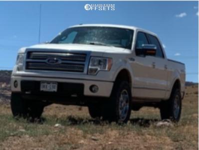 """2009 Ford F-150 - 20x12 -44mm - Dropstar 655c - Suspension Lift 3.5"""" - 35"""" x 12.5"""""""