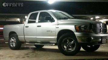 """2006 Dodge Ram 1500 - 20x8 19mm - Spaced Out Stockers Spaced Out Stockers - Leveling Kit - 35"""" x 12.5"""""""