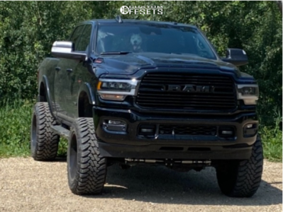 "2019 Ram 3500 - 22x12 -51mm - ARKON OFF-ROAD Lincoln - Suspension Lift 6"" - 37"" x 13.5"""