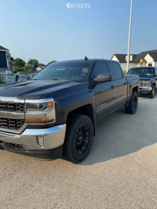 2016 Chevrolet Silverado 1500 - 20x9 -12mm - XD Xd829 - Leveling Kit - 275/60R20