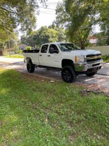 """2013 Chevrolet Silverado 2500 HD - 22x10 -18mm - Fuel Rage - Suspension Lift 6.5"""" - 35"""" x 12.5"""""""